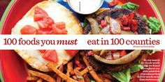 100 Foods You Must Eat in 100 Counties