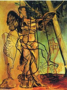 "surrealism: "" Psi by Francis Picabia, "" Andre Derain, Tristan Tzara, Magritte, Max Ernst, Henri Matisse, Francis Picabia, Art Database, Pointillism, Art Studies"