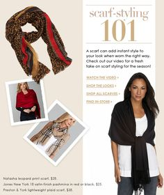 Scarf-Styling