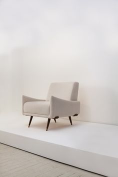 "Minimal, comfortable and elegant, Jorge Zalszupin designed the ""801"" armchair in the early 1960's. Available at Espasso"