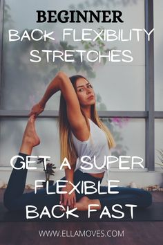 back stretches for flexibility Dance Flexibility Stretches, Dancer Stretches, Flexibility Routine, Gymnastics Flexibility, Flexibility Training, Improve Flexibility, Dancer Workout, Gymnastics Workout, Beginner Stretches