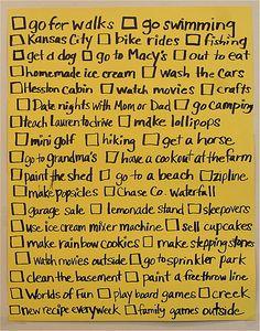 summer list!