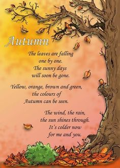 Autumn Art Ideas For Kids Preschool Children 34 Ideas For 2019 Fall Preschool, Preschool Songs, Autumn Art Ideas For Kids, Autumn Activities For Kids, Kids Poems, Nature Poems For Kids, Circle Time, Autumn Theme, Autumn Fall