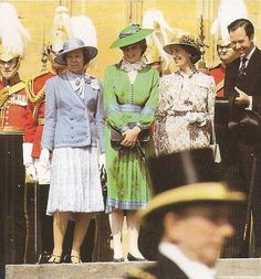 Lady Diana Spencer , The order of  the Garter - Juin 1981