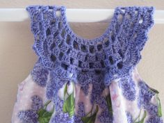Sundress with crochet bodice by MyComfyGirl on Etsy, $35.00