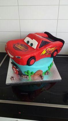 Cars taart ( Cars cake )