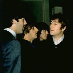 Paul McCartney, Richard Starkey, George Harrison, and John Lennon