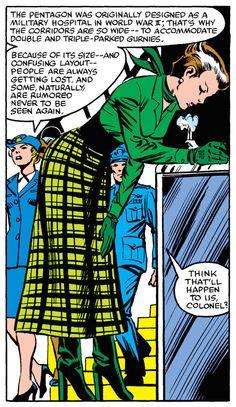 Uncanny X-Men #158 (1982) Gotta love Rogue's fashion in the 80's