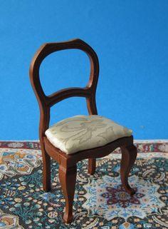 Schreibtisch Und Stuhl Mahagoni Puppenhaus Möbel Miniaturen 1:12    Arbeitszimmer Für Das Puppenhaus   Pinterest