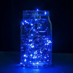 copper wire led string lights2 set of micro 30 leds star - Raindrop Christmas Lights