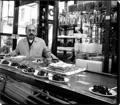İnci Pastanesi ve profiterol (1970ler) #istanbul #birzamanlar #istanlook
