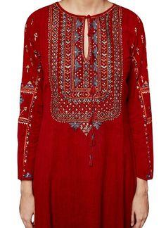 Indian Fashion Designers - Anita Dongre - Contemporary Indian Designer - The Aarunya Suit - AD-AW16-PH3-FW16MB101 Indian Fashion Trends, Indian Fashion Designers, India Fashion, Indian Designer Wear, Kurta Designs, Blouse Designs, Indian Dresses, Indian Outfits, Kurta Patterns