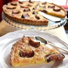 Fig tart with coconut frangipane and tonka. Fig Tart, Kfc, Shortcrust Pastry, Coconut Cream, Ketchup, Gordon Ramsay, Waffles, French Toast, Breakfast