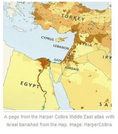 Jan 11, 2015: Why Harper Collins Wiped Israel Off The Map  http://www.thebookshelfcafe.com/