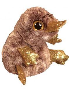 Beanie Boos Regular Brown Platypus Ty Beanie Boos, Platypus, Interactive Toys, Pet Toys, Owl, Bird, Animals, Duck Billed Platypus, Beanie Boos