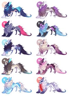 Yevren Dragon Mutation Adoptables #2 by VanillaToxin on DeviantArt