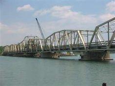 BRIDGE HISTORIC TRENTON CHANNEL, DETROIT RIVER, MICHIGAN