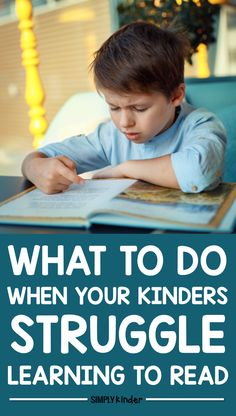 Do you have some kindergarten students who are struggling to read? Letter sounds, phonemic awareness, or any aspect just too much for them? We share ideas and tips to make sure your students get what they need! Early Screening For Reading is so important even in kindergarten!