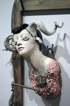 Sarah Louise Davey – Macabres and facinating sculptures
