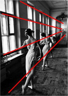 Excellent lesson about diagonal lines in photography using examples from the French photographer, Bresson