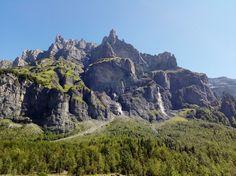 Les cascades du Cirque du Fer à Cheval - Sixt - Savoie - France