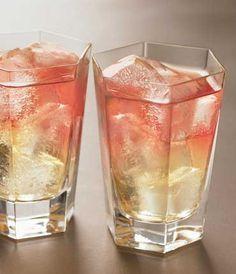Frenchy = 1 12 oz Pear Vodka, 3 oz Pineapple Juice, 1 oz Cranberry Juice