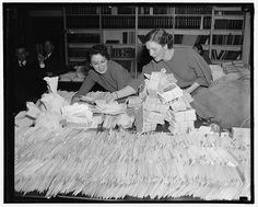 Photo Prompts #014: One Zillion Envelopes. Photo Credit: Library of Congress, LC-DIG-hec-25939.