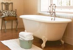The Classique, an extremely comfortable, versatile freestanding bath, is available in two lengths (1700 & 1800mm) and with a choice of three feet to suit many decor styles from country to contemporary. Victorian Bathroom, Clawfoot Bathtub, Decor Styles, Freestanding Bath, Baths, Bespoke, Bathrooms, Spa, Contemporary