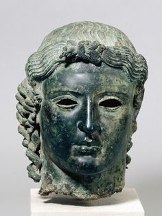 The Chatsworth Head, Ancient Greece, 470 BC-460 BC