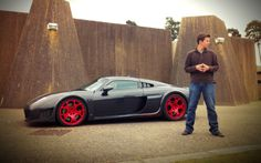 Tanner Foust and the Noble M600 <3...oh please oh please I want soooo bad