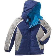 iXtreme Boys Puffer Jacket, Available in 4 Designs 11 Colors, Size: 18, Blue
