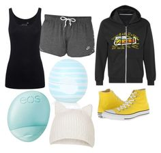 """Impractical jokers outfit"" by skiddypanther58 on Polyvore featuring Converse, Juvia, Topshop and Eos"