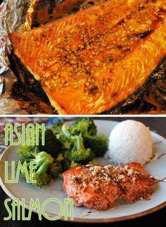 Sweet Asian Lime Salmon