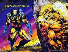 WOLVERINE VS SABRETOOTH MARVEL COMIC BOOK POSTER MUTANT MASSACRE UNCANNY X-MEN