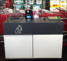 Trash It - No Recycling Allowed – Fixtures Close Up Recycling Station, Retail Merchandising, Trash Bins, Kitchen, Home Decor, Color, Black, Cooking, Decoration Home