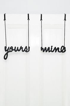 Yours and Mine Hooks
