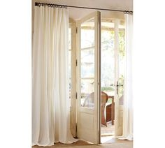 Or off white curtains with a gray wall?