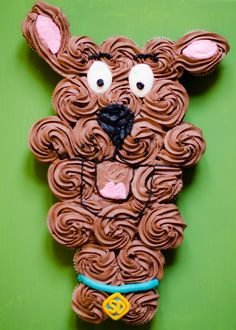 something to smile about...: scooby doo birthday party - pull apart cupcakes