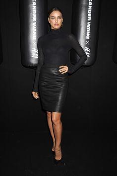 Gwiazdy napokazie Alexander Wang x H&M: Irina Shayk, fot. East News