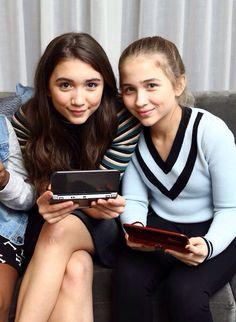 Rowan Blanchard and her little sister