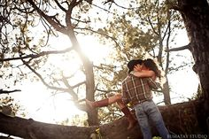 love. engagement. e-session. marriage. couple. relationship. nature. cowboy.
