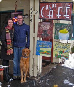 Tahoe Keys Cafe:  2279 Lake Tahoe Blvd, Ste 2, South Lake Tahoe, CA 96150.  (530) 542-3800.  HOURS DAILY: 7am - 4pm