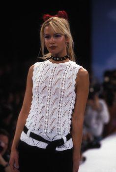 Cynthia Rowley Fall 1996 Winter 1997 New York - Valeria Mazza