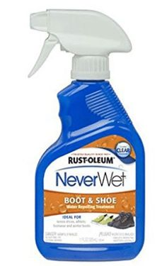 Rust-Oleum 280886 NeverWet 11-Ounce Boot and Shoe Spray, Waterproof Spray for Shoes
