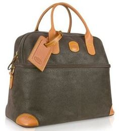 Brics Life Tuscan Cosmetic Tote Bella Swan Womens Luggage Leather Duffle Bag