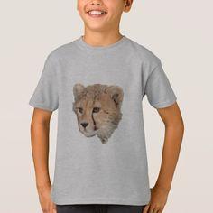 Cheetah Cub Headshot T-Shirt