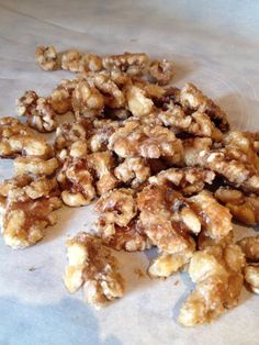 Maple Syrup-Candied Walnuts Candied Walnuts, Your Mouth, Maple Syrup, I Foods, Allrecipes, Glutenfree, Protein, Paleo, Vegan