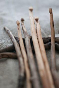 Agujas de crochet · crochet hooks