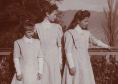 God Save the Tsar!  Anastasia, Tatiana & Marie