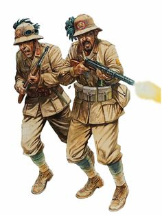 Italian Bersaglieri in North Africa - pin by Paolo Marzioli Panzer Iv, Luftwaffe, East Africa, North Africa, Military Art, Military Uniforms, Kingdom Of Italy, Image Mix, Italian Army